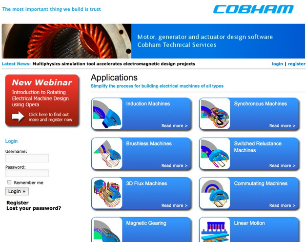 Motor design software site introduces automated design