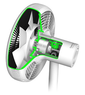 Green fan balmuda