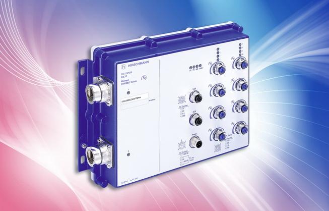 Belden extends Hirschmann Brand OCTOPUS range with First IP54 switch