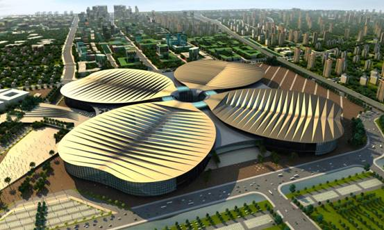 National Exhibition and Convention Center (NECC) Shanghai